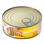Salmon drilled in oil 220g