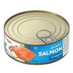 Salmon in own juice 240g