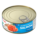 Salmon minced in own juice 240g
