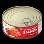 Salmon minced in tomato sauce 240g