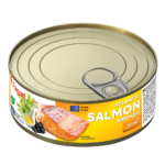 Salmon smoked in oil 220g