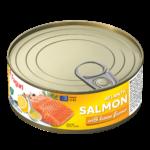 Salmon with lemon flavour 240g